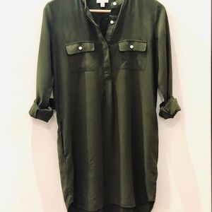 Hunter Green Dress by Gap